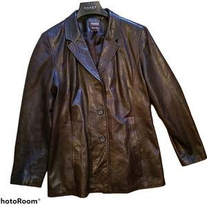 DANIER  Leather Jacket Size M